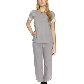 Swegmark Dream Fairtrade Pyjama Grå bomull Medium Dame
