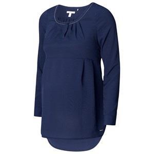 Esprit Maternity Blouse Wvn LS Night Blue 34 *7. Mammakläder