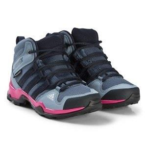 adidas Performance Purple and Pink Terrex Mid Hiking Boots 31 (UK 12.5...