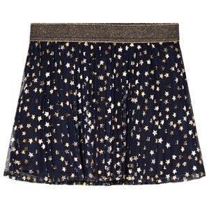 GAP Blue Galaxy Foil Star Skirt XL (11-12 år)
