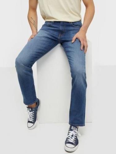 Levis 502 Taper Smoke Stacked Adv Jeans Indigo