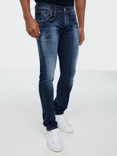 Replay Anbass Hyperflex Jeans Dark Blue