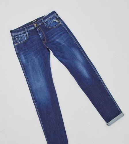 Replay TALL anbass slim jeans in blue