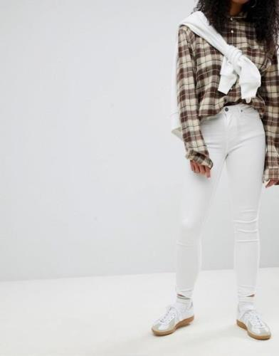 Calvin Klein Sculpted White Skinny Jeans - Infinite white